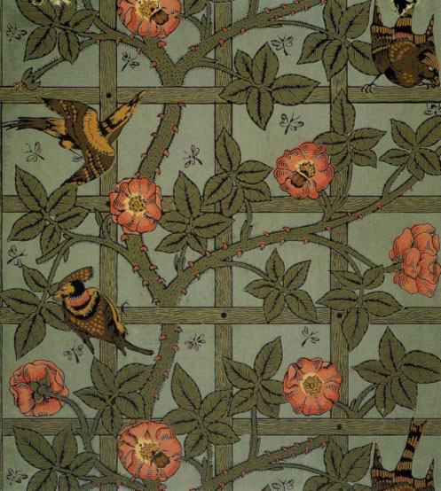 William Morris. Trellis, 1864